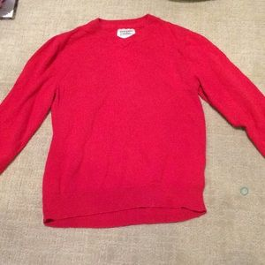 Old Navy red sweater